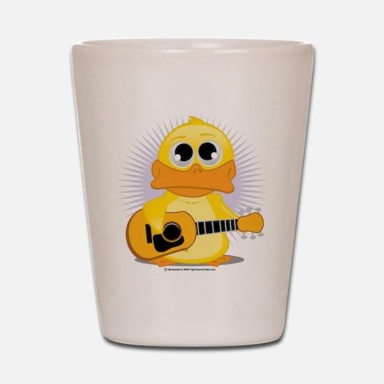 Acoustic Guitar Duck Shot Glass