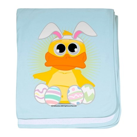 Easter Duck baby blanket