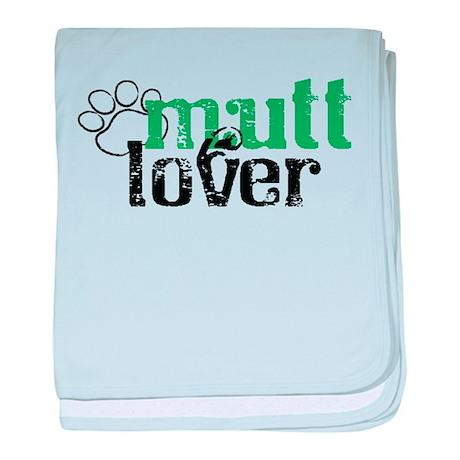Mutt Lover baby blanket