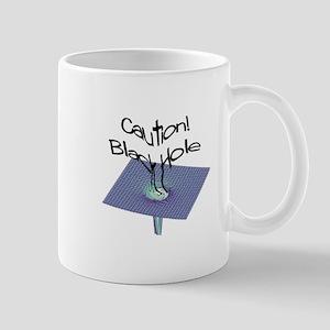 Black Hole Caution Mug