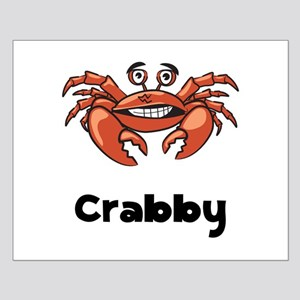 Crabby Crab Small Poster