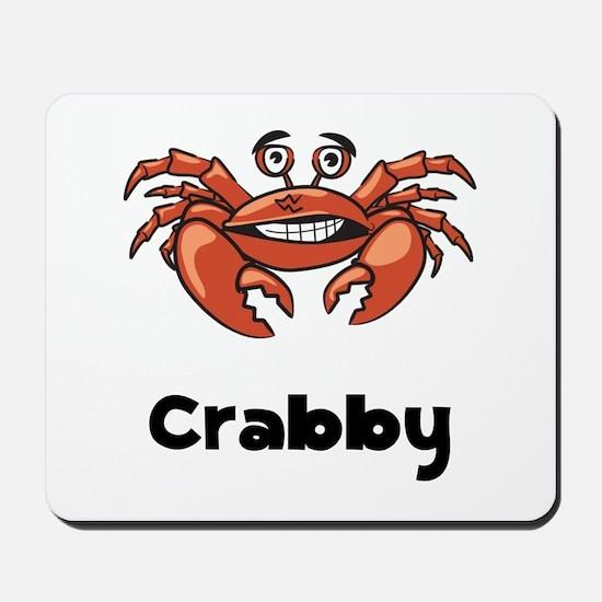 Crabby Crab Mousepad