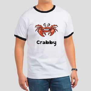 Crabby Crab Ringer T