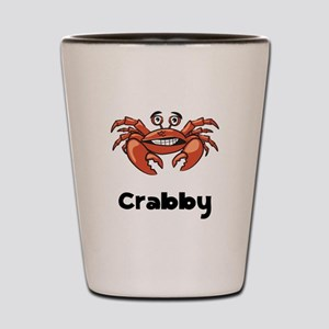 Crabby Crab Shot Glass