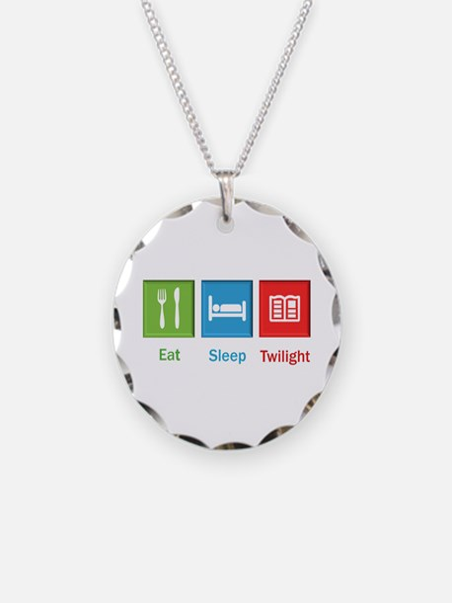 Eat Sleep Twilight Necklace
