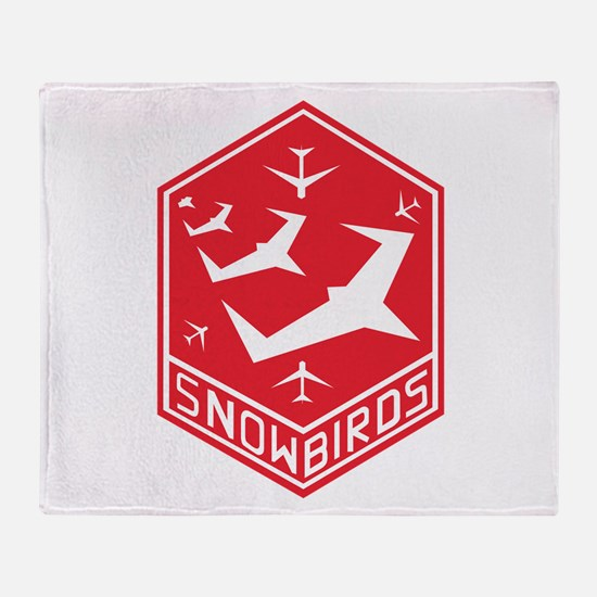 SNOWBIRDS Throw Blanket