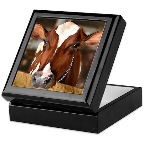 Cow 1 Keepsake Box