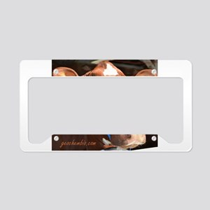 Cow 2 License Plate Holder