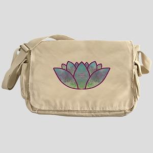Lotus Messenger Bag