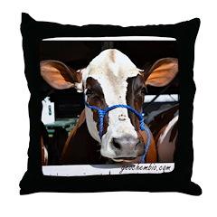 Cow 3 Throw Pillow