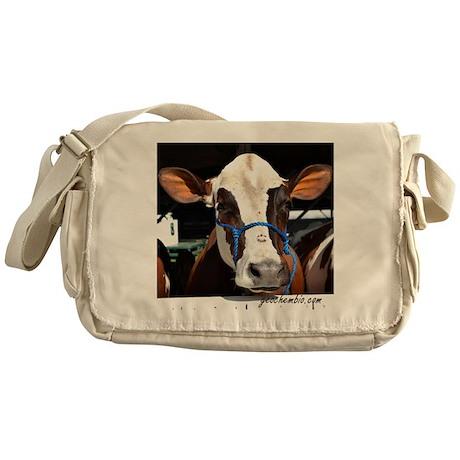 Cow 3 Messenger Bag