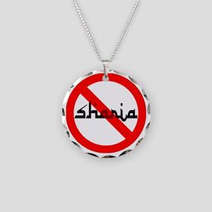 NOBAMA NO SHARIA Necklace Circle Charm
