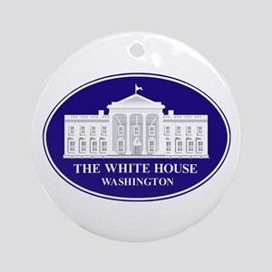 Emblem - The White House Ornament (Round)