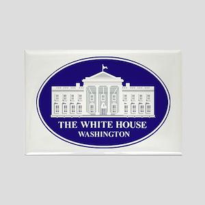 Emblem - The White House Rectangle Magnet