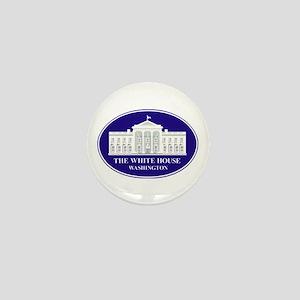 Emblem - The White House Mini Button