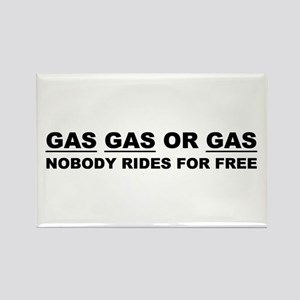 GAS GAS OR GAS Rectangle Magnet