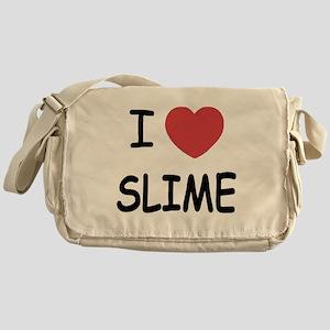 I heart slime Messenger Bag