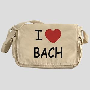 I heart Bach Messenger Bag