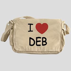 I heart Deb Messenger Bag