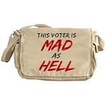 MAD AS HELL b Messenger Bag