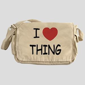 I heart thing Messenger Bag