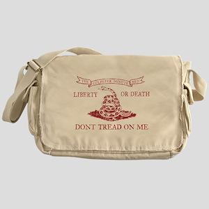 Culpeper Flag (Crimson) Messenger Bag