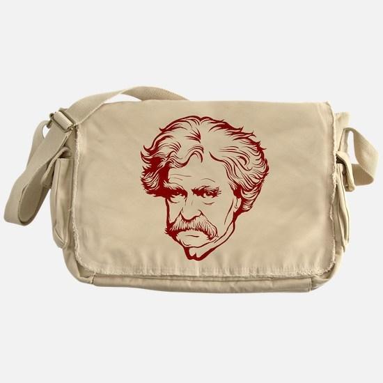 Mark Twain Messenger Bag