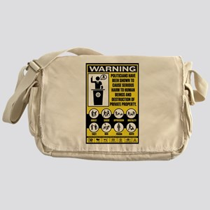 Warning: Politicians Messenger Bag