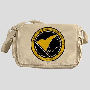 Voluntaryist Messenger Bag