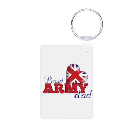 Proud Army Dad - Aluminum Photo Keychain