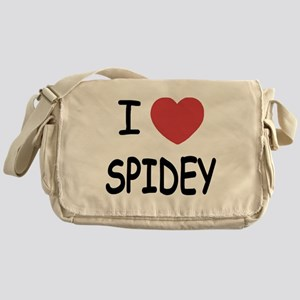 I heart spidey Messenger Bag