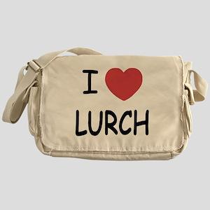 I heart lurch Messenger Bag