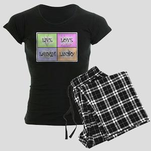 Live Love Laugh Lindy Women's Dark Pajamas