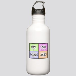 Live Love Laugh Lindy Stainless Water Bottle 1.0L