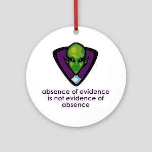 Aliens Exist Ornament (Round)