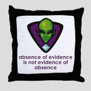 Aliens Exist Throw Pillow