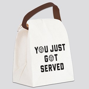 You Just Got Served Canvas Lunch Bag