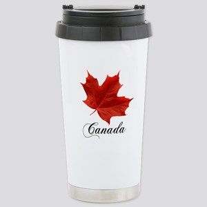 Show your pride in Canada Stainless Steel Travel M