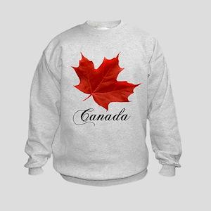 Show your pride in Canada Kids Sweatshirt
