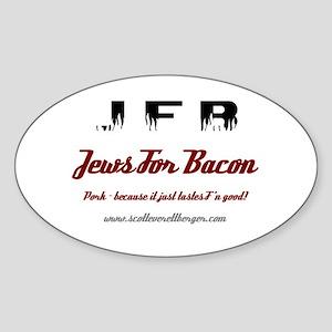 JFB Oval Sticker