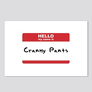 Hello My Name Is Cranky Pants Postcards (Package o