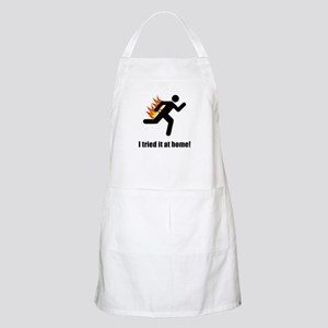 I Tried It At Home Apron