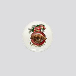Christmas - Deck the Halls - Cavaliers Mini Button