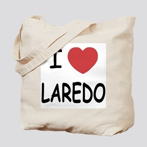 I heart laredo Tote Bag