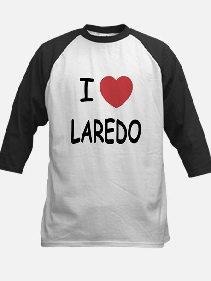 I heart laredo Kids Baseball Jersey
