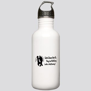 Contra Dancers Never Die Stainless Water Bottle 1.