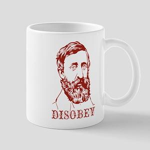 Thoreau Disobey Mug