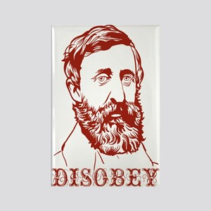Thoreau Disobey Rectangle Magnet