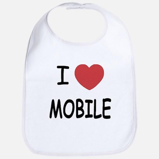 I heart mobile Bib