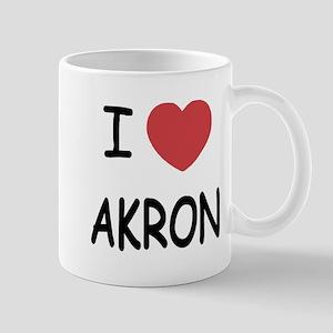 I heart akron Mug